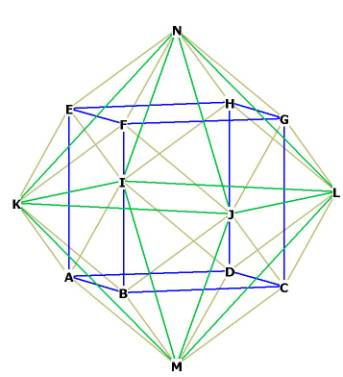 how to solve rhombic cube